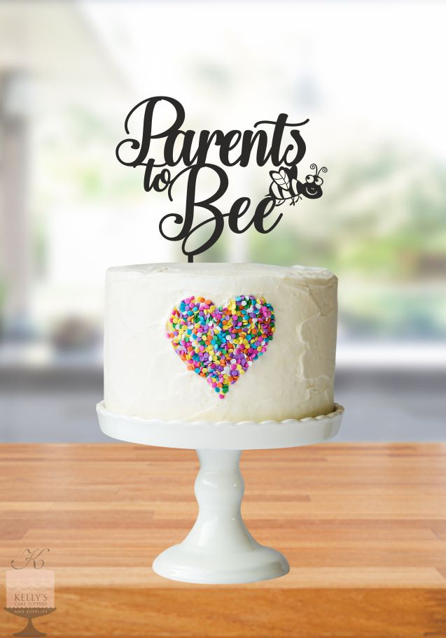 Parents To Bee Kelly S Cake Toppers