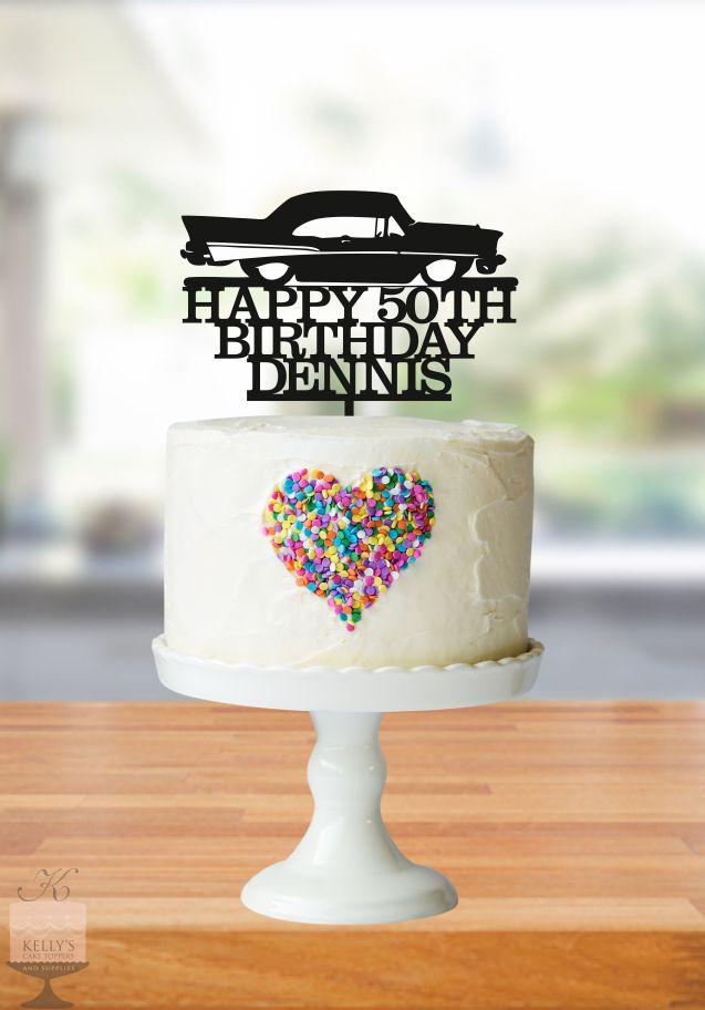 Happy 50th Birthday Dennis Kelly S Cake Toppers