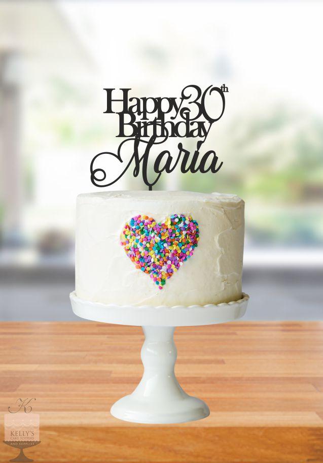 Happy 30th Birthday Maria