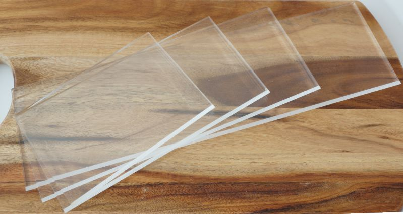 Clear Acrylic Scrapers