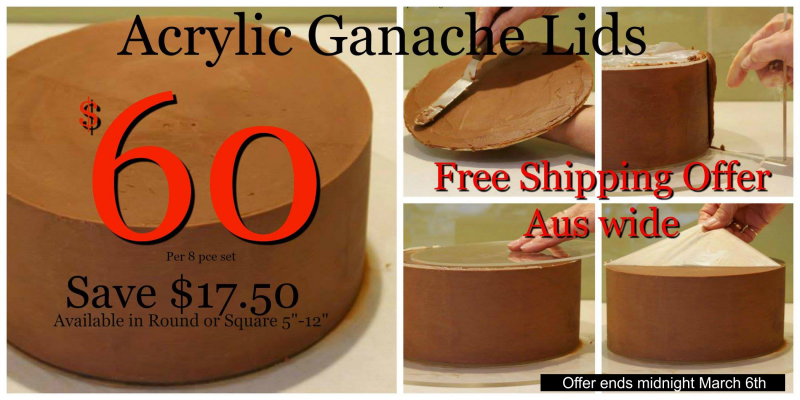 1cf88363e37 Acrylic Ganache Lids offer - Kelly s Cake Toppers